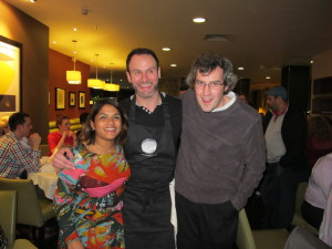 Mark chatted with Glynn Purnell